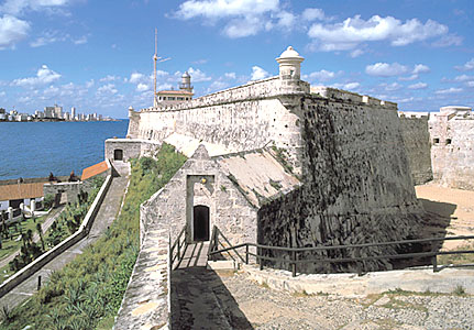Touristic attractions of Cuba : Morro Castle Fortress