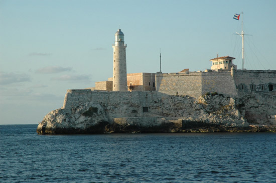 Touristic attractions of Cuba : Old Havana, Castles and Fortifications