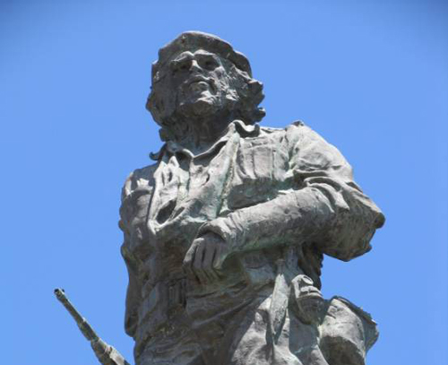 Touristic attractions of Cuba : Ernesto Che Guevara's Monument and Mausoleum