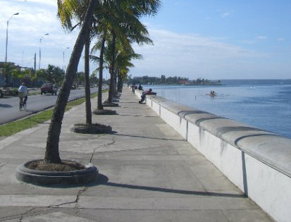 Touristic attractions of Cuba : Cienfuegos