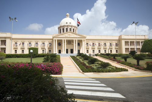 Touristic attractions of Dominican Republic : National Palace, Santo Domingo