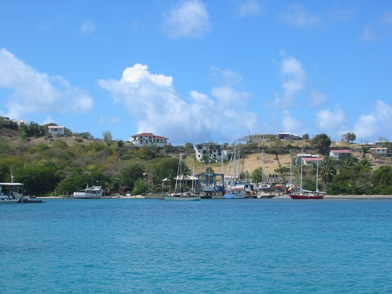 Touristic attractions of Grenada : Carriacou