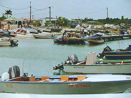 Touristic attractions of Guadeloupe : Port - Louis