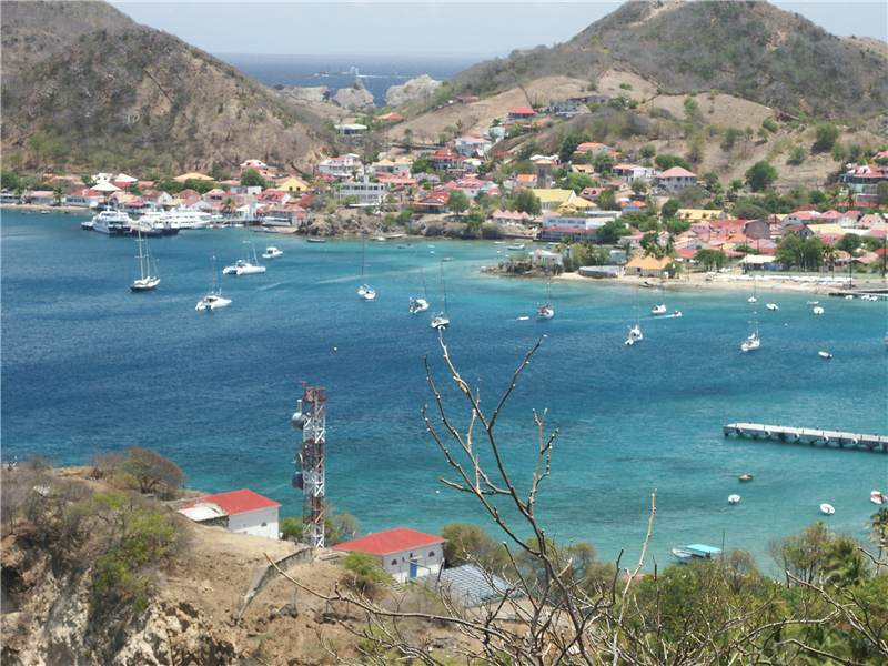 Touristic attractions of Guadeloupe : Bourg des Saintes