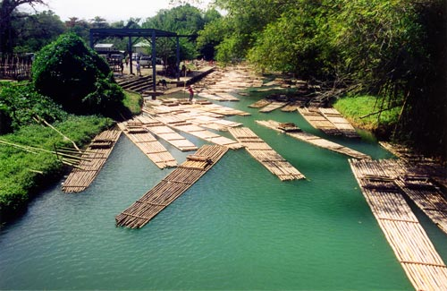 Touristic attractions of Jamaica : Rio Grande