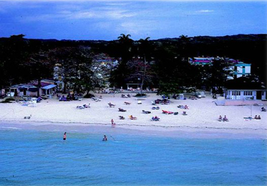 Touristic attractions of Jamaica : Negril Beaches