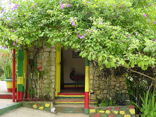 Touristic attractions of Jamaica : Nine Mile (Bob Marley's birthplace)