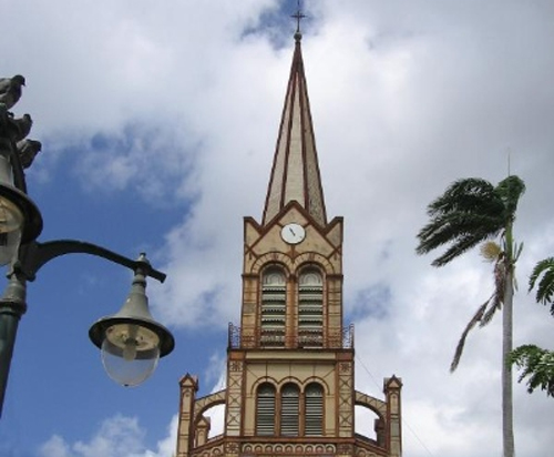 Touristic attractions of Martinique : Cathédrale Saint-Louis