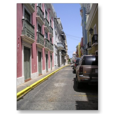 Touristic attractions of Puerto Rico : Old San Juan