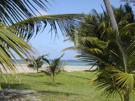 Touristic attractions of Puerto Rico : Luquillo Beach
