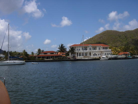 Touristic attractions of Saint Lucia : Rodney Bay