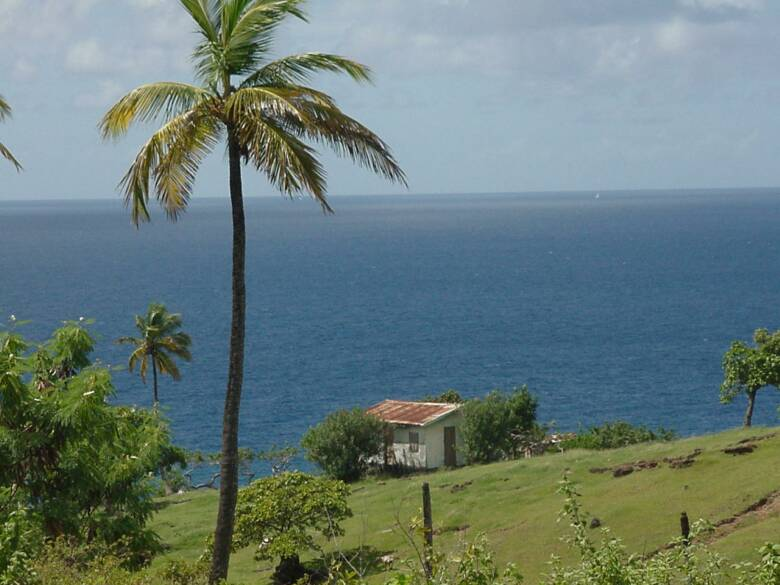 Touristic attractions of Saint Lucia : Choiseul