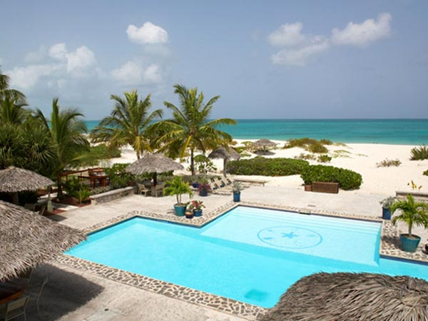 Touristic attractions of Turks & Caicos : Pine Cay