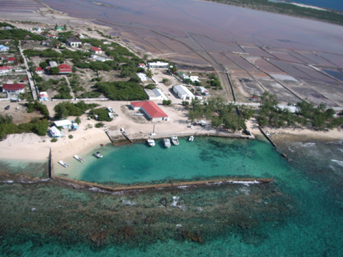 Touristic attractions of Turks & Caicos : Salt Cay