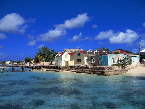 Touristic attractions of Turks & Caicos : Cockburn Town