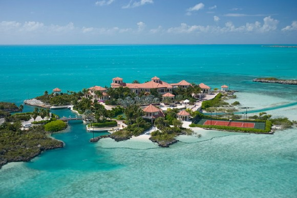 Touristic attractions of Turks & Caicos : Fort George's Cay