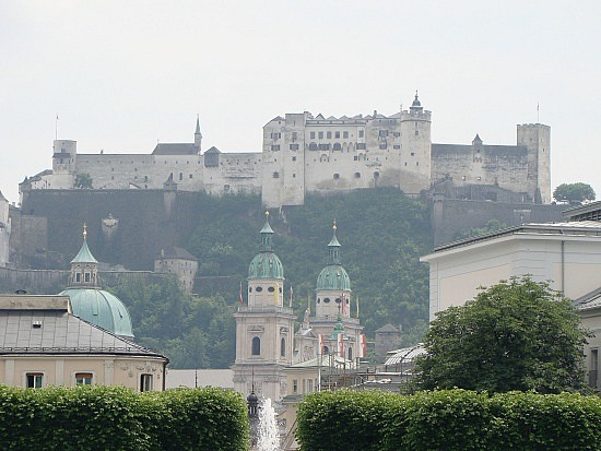 Touristic attractions of Austria : Fortress Hohensalzburg