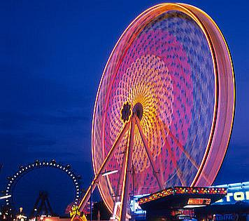 Touristic attractions of Austria : Giant Ferris Wheel