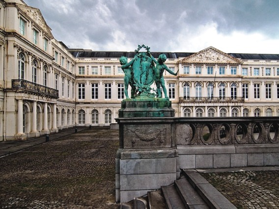 Touristic attractions of Belgium : Royal Palace of Brussels