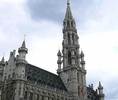 Touristic attractions of Belgium : The Brussels Town Hall