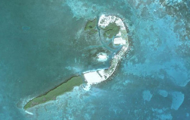Touristic attractions of Belize : St. George's Cay