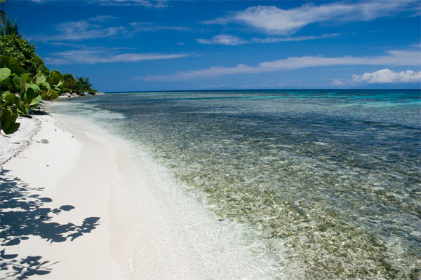 Touristic attractions of Belize : San Pedro Beach