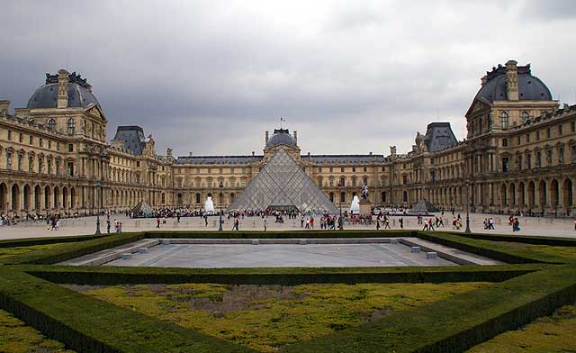 Touristic attractions of France : The Louvre