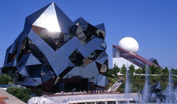 Touristic attractions of France : Futuroscope Theme Park