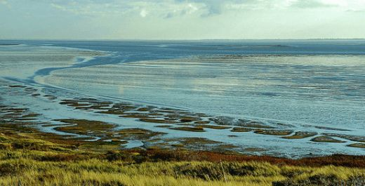 Touristic attractions of Germany : The Frisian Islands, Wadden sea islands