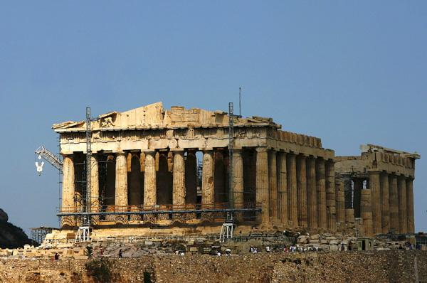 Touristic attractions of Greece : Acropolis