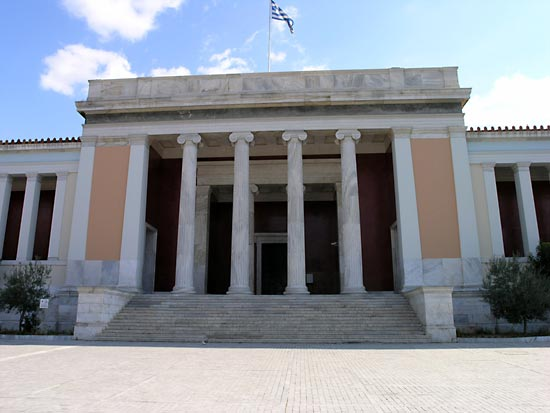Touristic attractions of Greece : Athens' National Archeological Museum