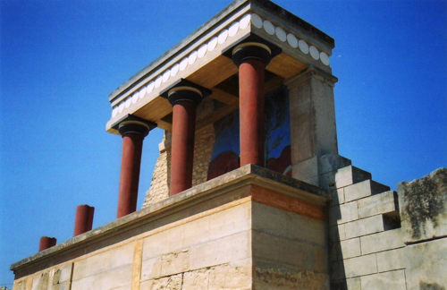 Touristic attractions of Greece : Knossos Palace
