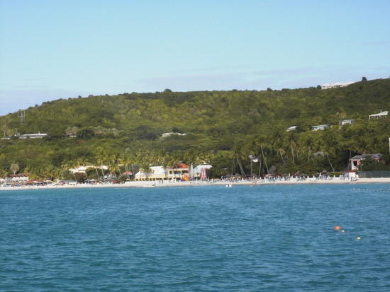 Touristic attractions of Antigua and Barbuda : Dickinson Bay