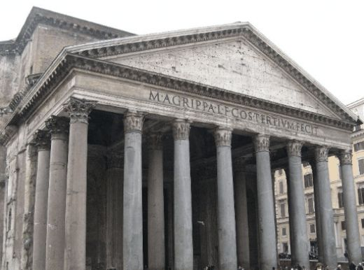 Touristic attractions of Italy : The Pantheon (Every god)