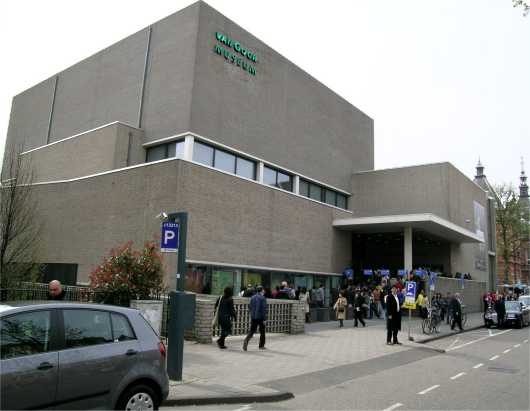 Touristic attractions of Saint Martin : Van Gogh Museum