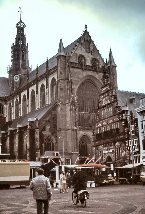 Touristic attractions of Saint Martin : Grote Kerk or St Bavokerk