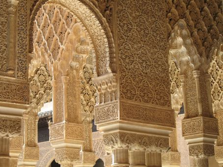 Touristic attractions of Spain : The Alhambra