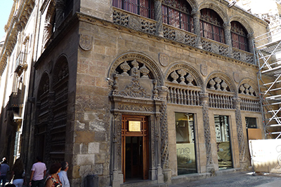 Touristic attractions of Spain : Cathedral and Royal Chapel Granada