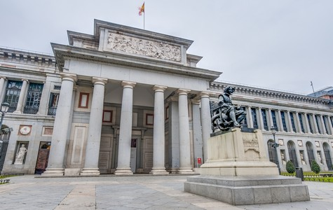 Touristic attractions of Spain : The Prado Museum