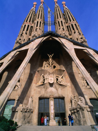 Touristic attractions of Spain : Sagrada Família