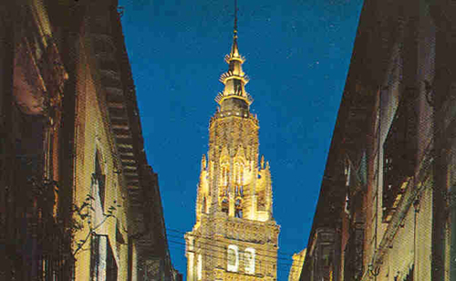 Touristic attractions of Spain : Toledo
