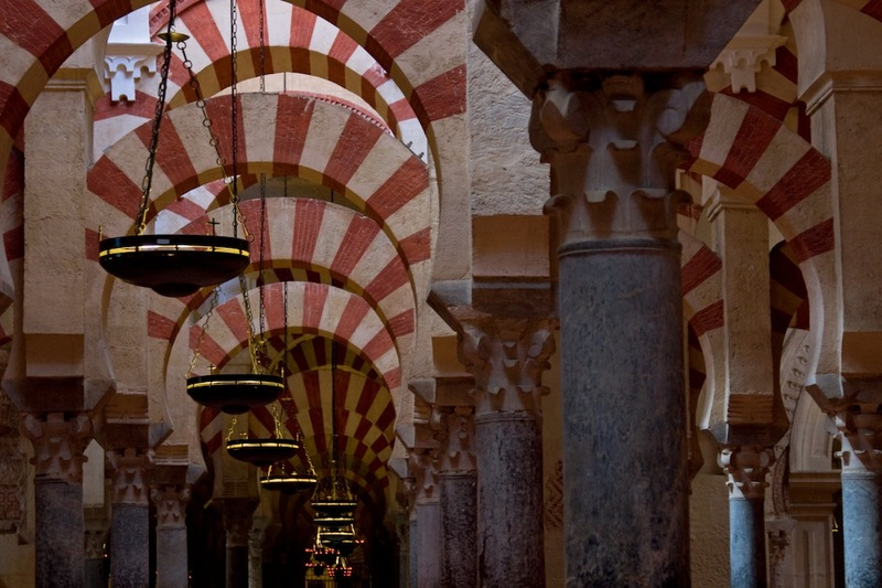Touristic attractions of Spain : Historic Centre of Cordoba