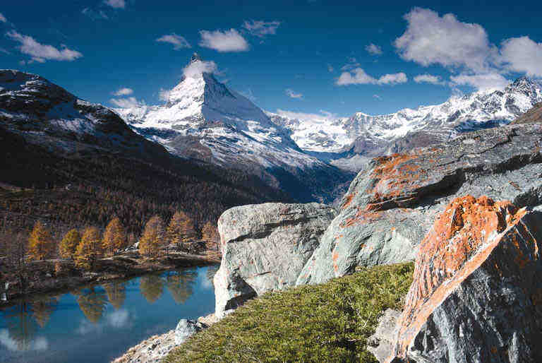 Touristic attractions of Switzerland : Zermatt