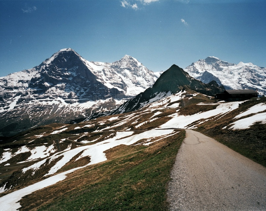 Touristic attractions of Switzerland : Jungfrau Massif