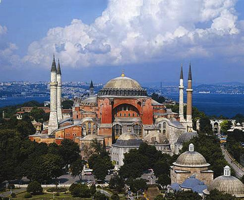 Touristic attractions of Turkey : St. Sophia Museum