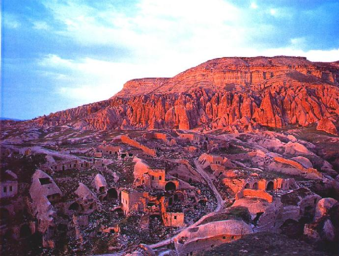 Touristic attractions of Turkey : Cappadocia region