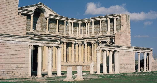 Touristic attractions of Turkey : Sardis