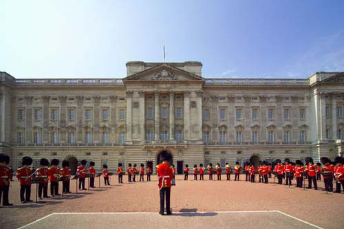 Touristic attractions of United Kingdom : Buckingham Palace