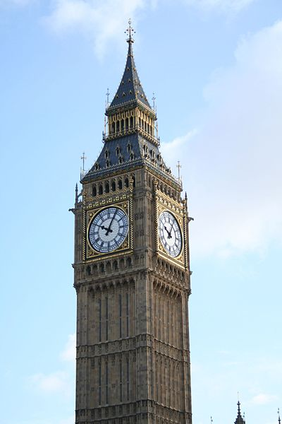 Touristic attractions of United Kingdom : Big Ben