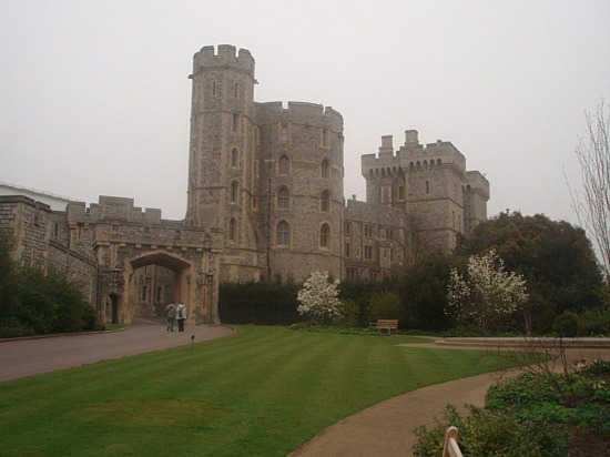 Touristic attractions of United Kingdom : Windsor Castle
